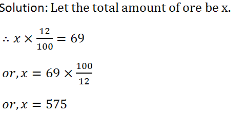 RS Aggarwal Class 7 Math Tenth Chapter Percentage Exercise 10B Solution