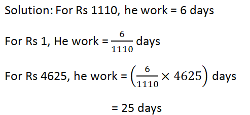 RS Aggarwal Class 7 Math Ninth Chapter Unitary Method