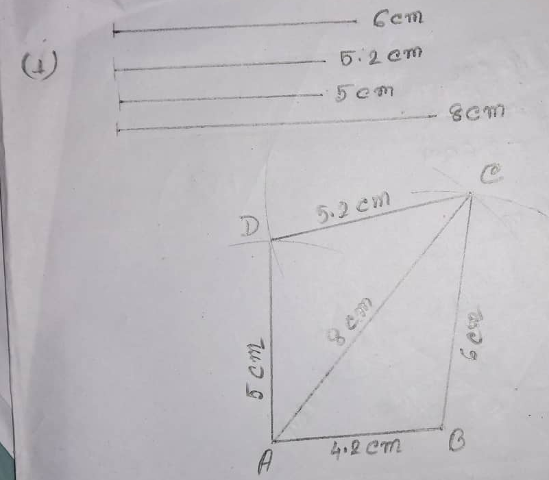 RS Aggarwal Class 8 Math Seventeenth Chapter Construction Of