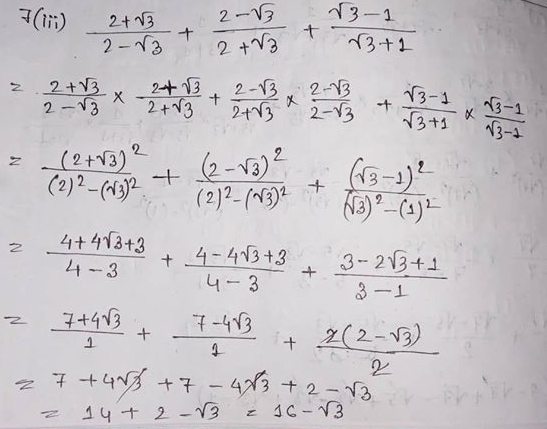 RS Aggarwal And Veena Aggarwal Class 9 Math First Chapter Number