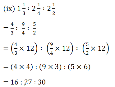 Selina Concise Class 7 Math Chapter 6 Ratio And Proportion