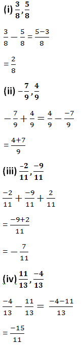 Rd Sharma Class 7 Math 5th Chapter Operations On Rational Numbers Exercise 5 2 Solution